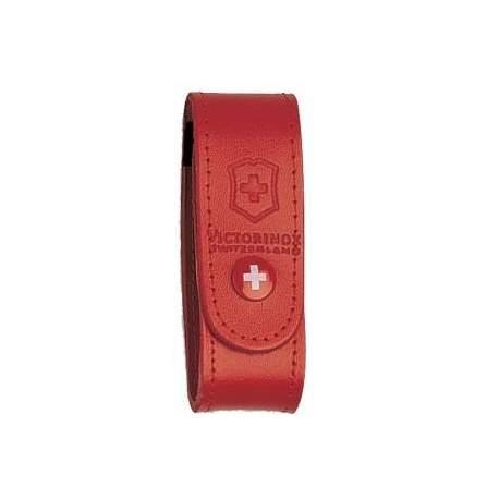 Etui couteau suisse Victorinox - cuir rouge