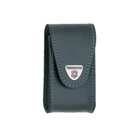 Etui couteau suisse Victorinox - cuir noir