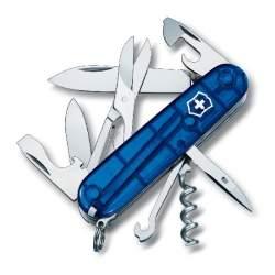 Couteau suisse CLIMBER bleu translucide