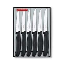 Coffret 6 couteaux steak SwissClassic