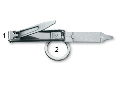 Schéma coupe-ongles Victorinox