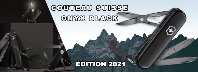 Couteaux suisses Victorinox Onyx Black